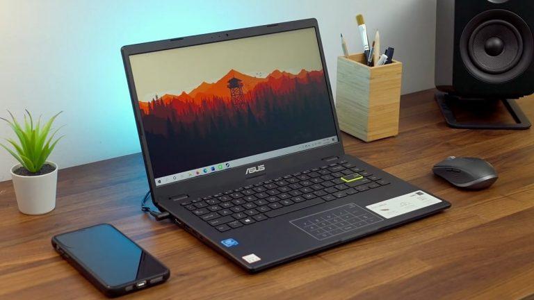 Review Asus E410MA